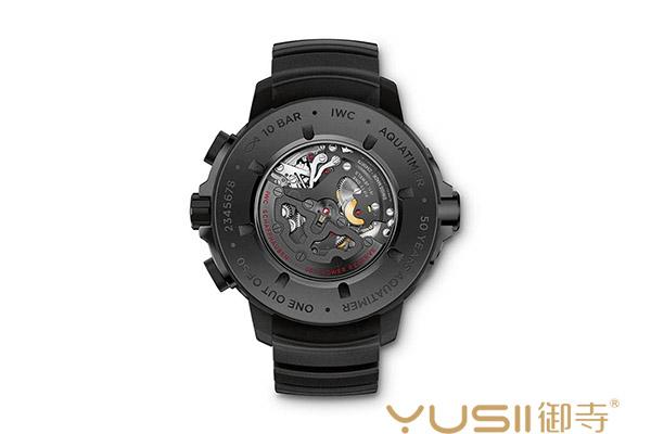 万国瓷化钛金属制作表款 海洋时计50周年特别版手表