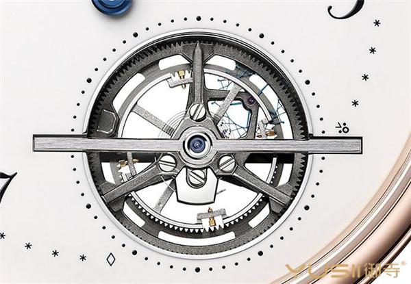 Classique Tourbillon Extra-Plat Automatique面盘下方陀飞轮