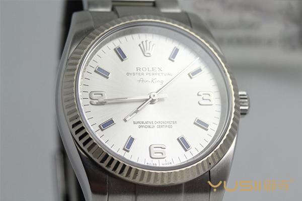 2万左右预算二手劳力士蚝式恒动系列114234白盘男士手表