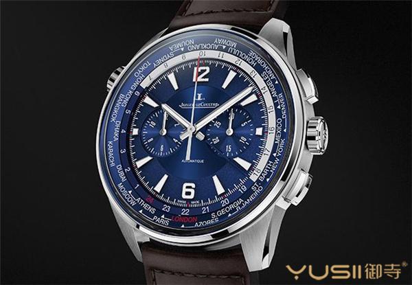 积家Polaris Chronograph World Time世界时间计时腕表(Q905T480)