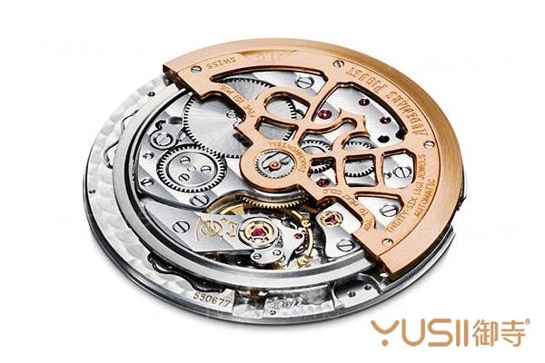 爱彼皇家橡树超薄型腕表所使用的Cal.2121超薄自动上链机芯。