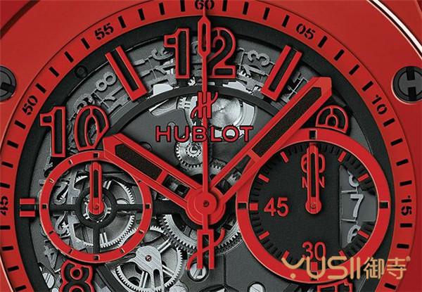 Big Bang Unico魔力红陶瓷腕表