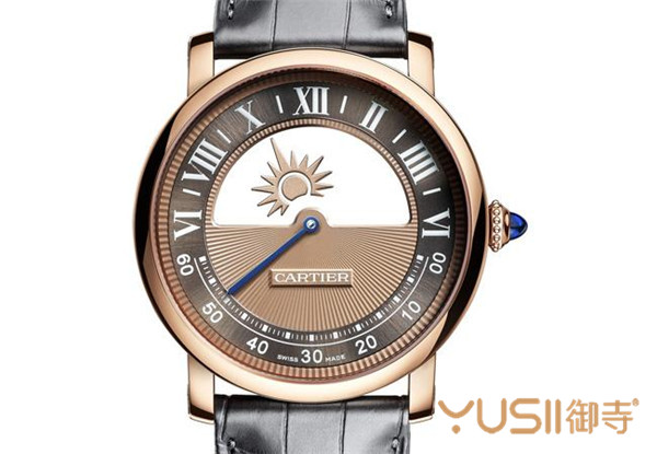Rotonde de Cartie神秘昼夜显示腕表