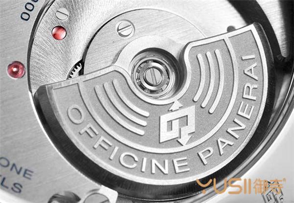 沛纳海自制的P.4000 自动上链机械机芯。