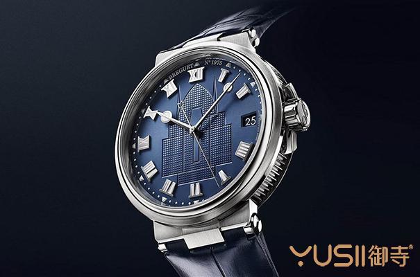 支持海洋保育 宝玑又一款海洋Marine特别版5517手表
