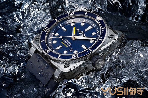 柏莱士新款蓝面潜水表BR03-92 Diver Blue