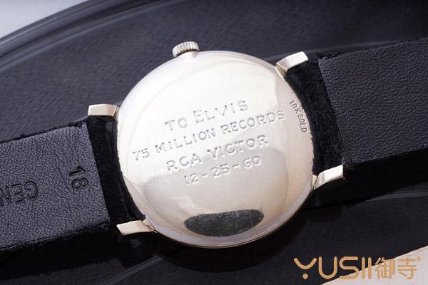 有名人加持身价就是不一样 猫王欧米茄手表拍价近千万