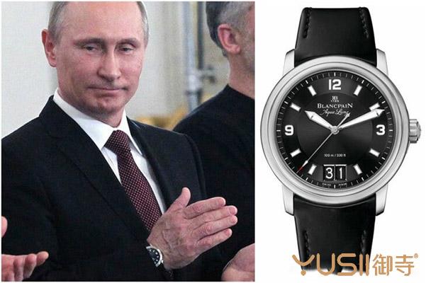 俄罗斯总统普京都喜欢带什么手表?名人戴表揭密