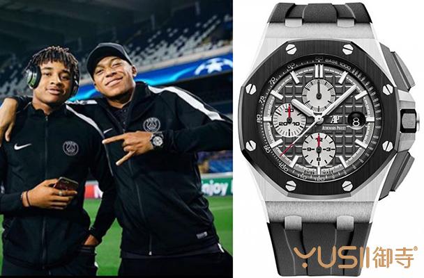 下一个球王是他?看看法国队新星姆巴都戴什么手表?