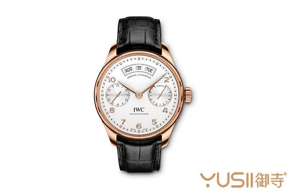 实用性不会比万年历差到哪 万国葡萄牙年历表IW503504手表