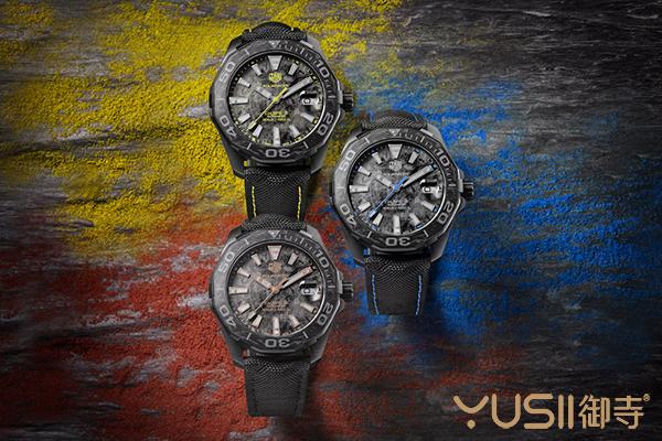 泰格豪雅新品Aquaracer竞潜系列碳纤维手表回收价格多少?