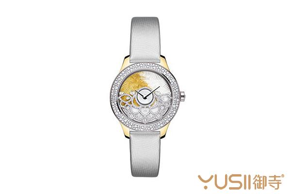 迪奥新款Dior Grand Bal系列Dentelle Frivole腕表二手可以回收吗?
