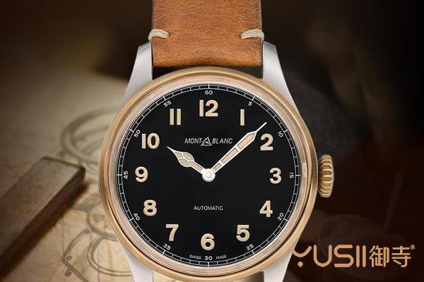 赏析万宝龙青铜手表,万宝龙手表回收行情好吗?