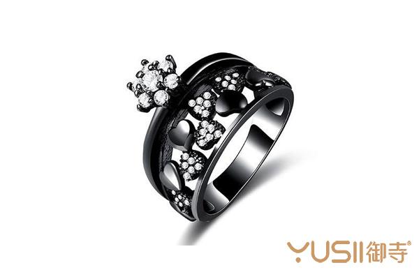 黑色戒指有什么寓意?上海哪里回收珠宝首饰?