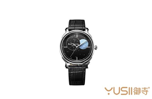 艾米龙月相腕表,手表回收店的艾米龙腕表什么价位?