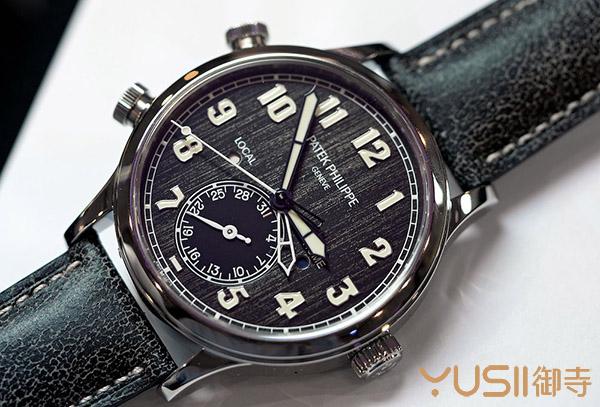 百达翡丽又一款天价表,孤品钛壳5524T手表以230万瑞郎成交,御寺