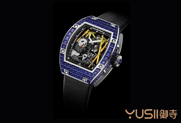 熊猫陀飞轮,理查德米勒腕表在手表回收店什么价格?御寺