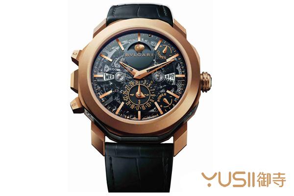 赏析宝格丽大自鸣万年历手表,宝格丽手表回收可找御寺