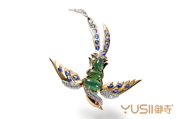 奢华的卡地亚动物首饰,卡地亚小鸟胸针能回收吗,御寺