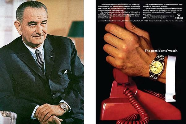 劳力士Day-Date手表为什么又称为总统表?使用者身份高贵