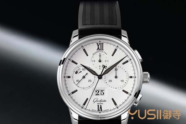 赏析格拉苏蒂原创议员系列大日历手表,这款表在奢侈品回收店能买到吗?御寺