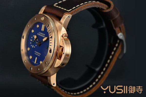 赏析沛纳海限量版青铜表,二手表回收可找御寺
