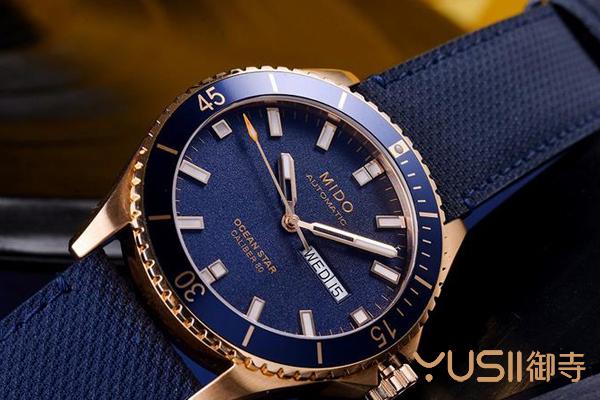 御寺二手手表回收邀您共赏美度领航者系列蓝盘手表   御寺
