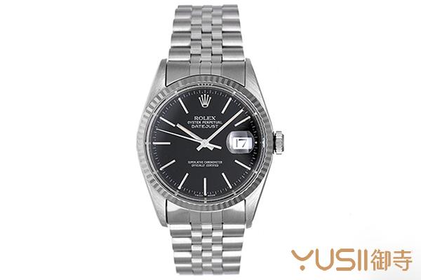 二手劳力士116234无钻黑色手表大概的回收价格?