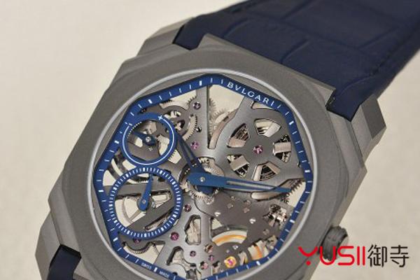 赏析宝格丽OCTO系列镂空超薄手表,宝格丽手表回收一般几折?御寺