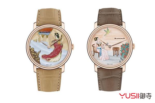 宝珀艺术大师系列四大美女手表,回收价格大概是多少?御寺