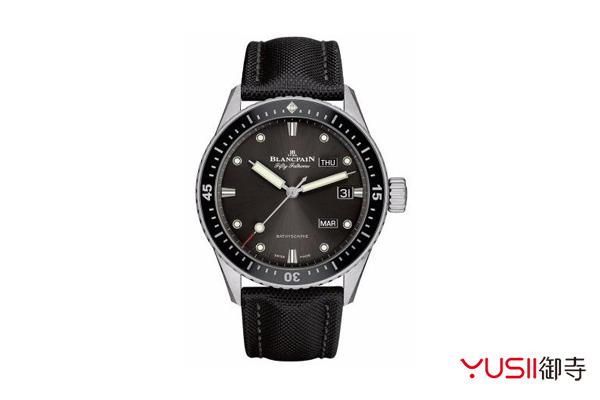 赏析宝珀五十噚新款手表,宝珀手表回收可找御寺