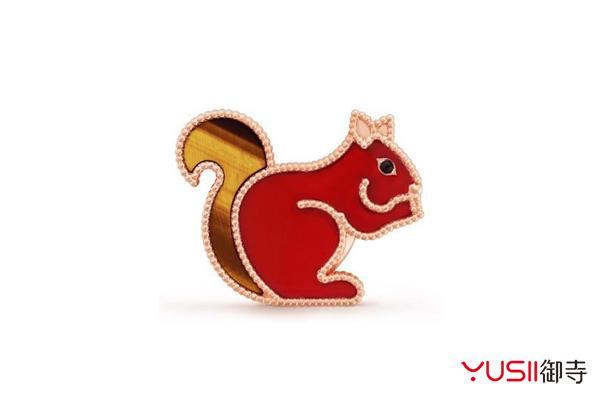 梵克雅宝小动物胸针撩起你的童心,珠宝首饰回收可找御寺