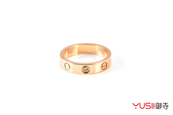卡地亚love戒指好回收吗?上海哪里回收珠宝首饰?御寺,卡地亚love戒指