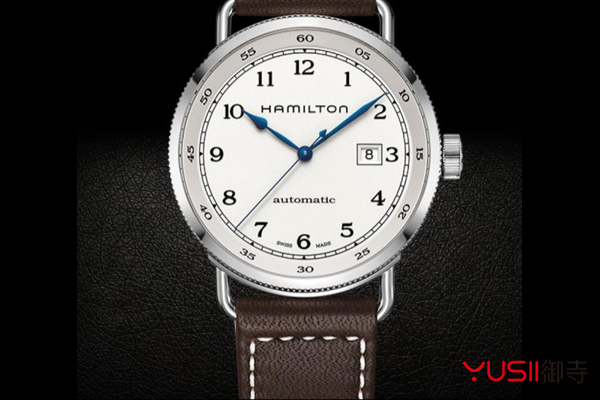 汉米尔顿手表回收哪家好?二手手表回收一般几折?御寺,汉米尔顿卡其海军系列H77715553