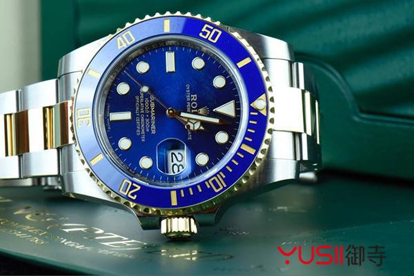 劳力士潜航者型系列116613LB-97203 蓝盘腕表(间金蓝),御寺
