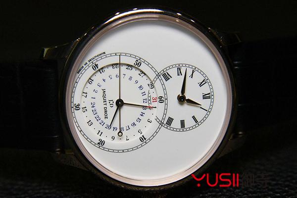 雅克德罗属于什么档次,哪个系列腕表回收价值比较好,御寺,雅克德罗大秒针系列J007030242腕表
