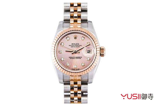 上海哪里回收手表?奢侈品手表回收一般几折?御寺,劳力士女装日志型179171