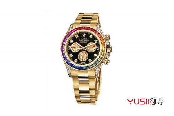 天津劳力士宇宙计型迪通拿系列116598 RBOW手表回收