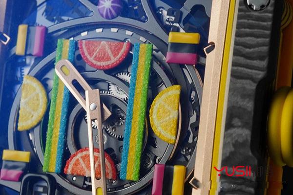 SIHH 2019理查德米勒新款水果主题表款Bonbon系列手表