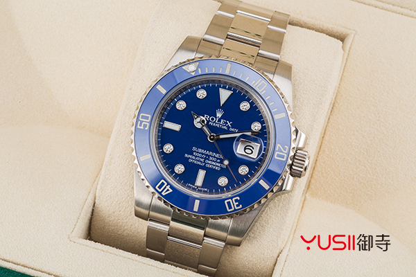 劳力士潜航者型系列116619LB手表回收