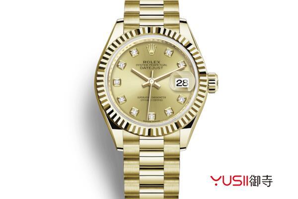劳力士女装日志型系列279178手表回收
