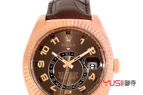 劳力士SKY-DWELLER326135手表回收