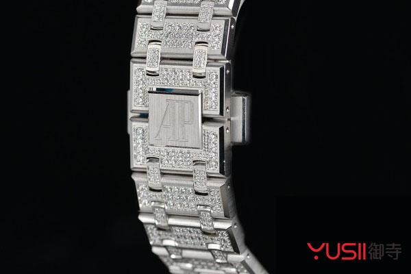 爱彼皇家橡树系列满钻自动上链腕表回收价格