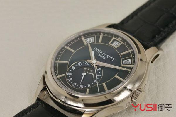 百达翡丽月相年历手表回收