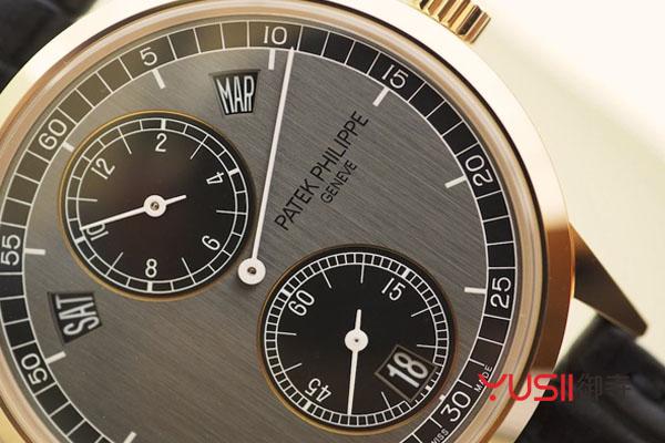 百达翡丽规范指针年历手表回收