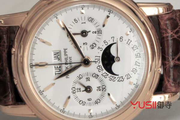 百达翡丽手表回收价格