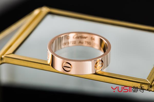 回收卡地亚钻石戒指