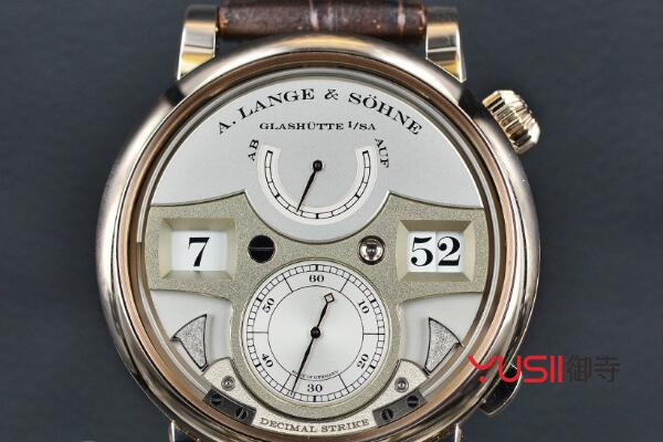 上海哪里回收朗格ZEITWERK系列143.050限量版手表