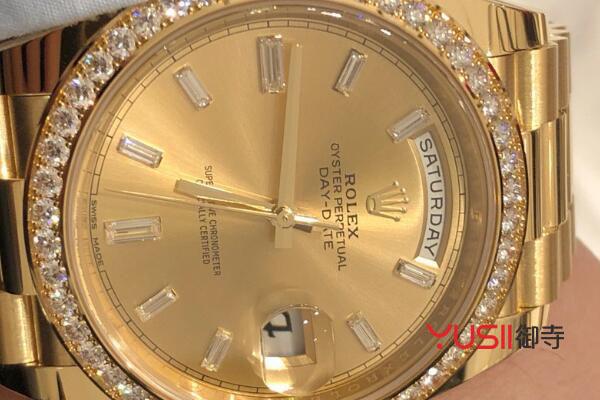 劳力士手表几折回收