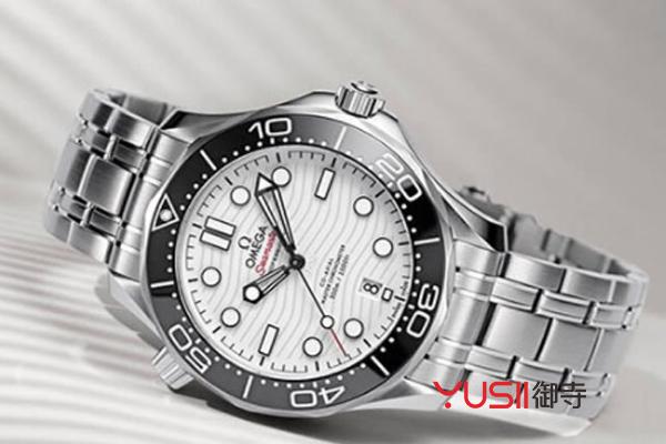 欧米茄海马系列白盘手表回收价格